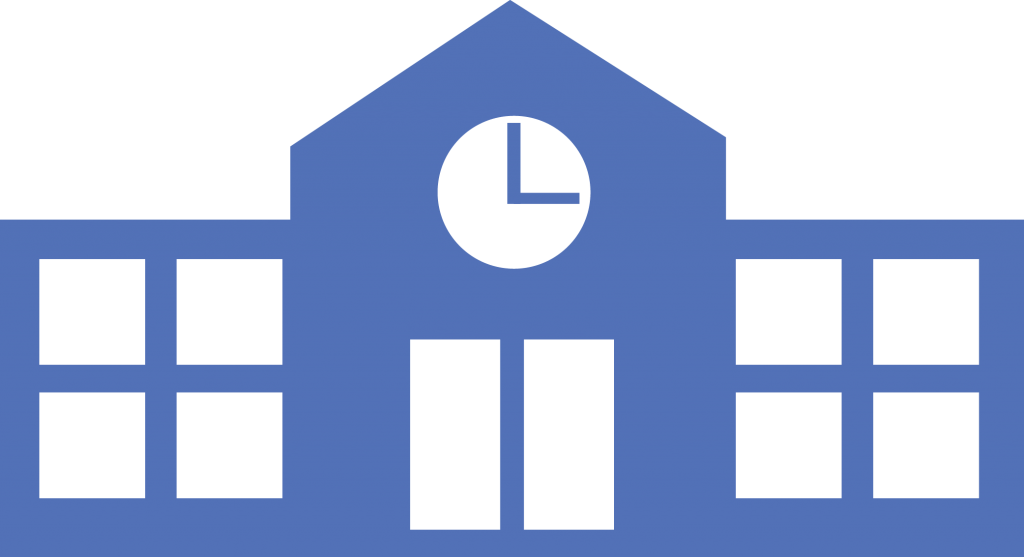 Blue School Icon